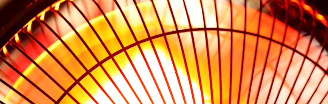 Close up of an electric Industrial Fan